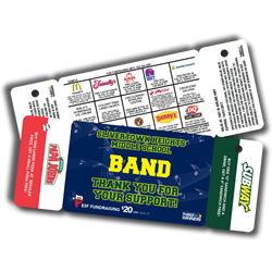 Two Key Tag Card - Discount Card Example