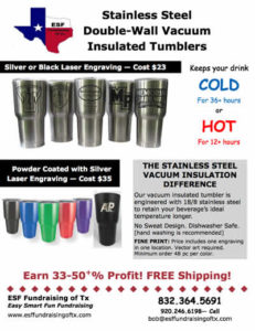 Insulated Tumbler Flyer