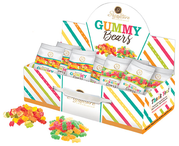 Signature Chocolates Gummy Bears
